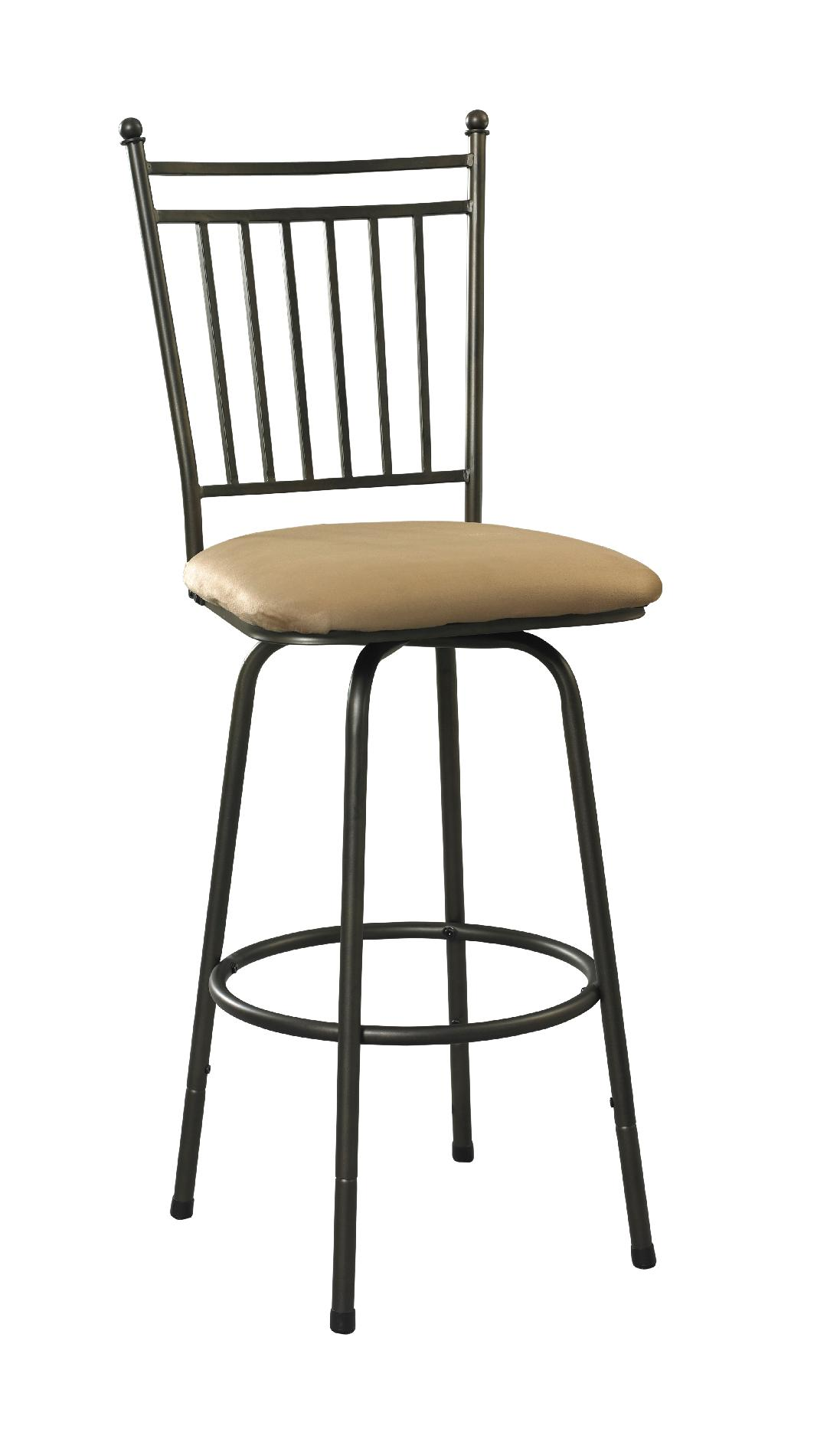 Linon Set of 3 Swivel Barstools