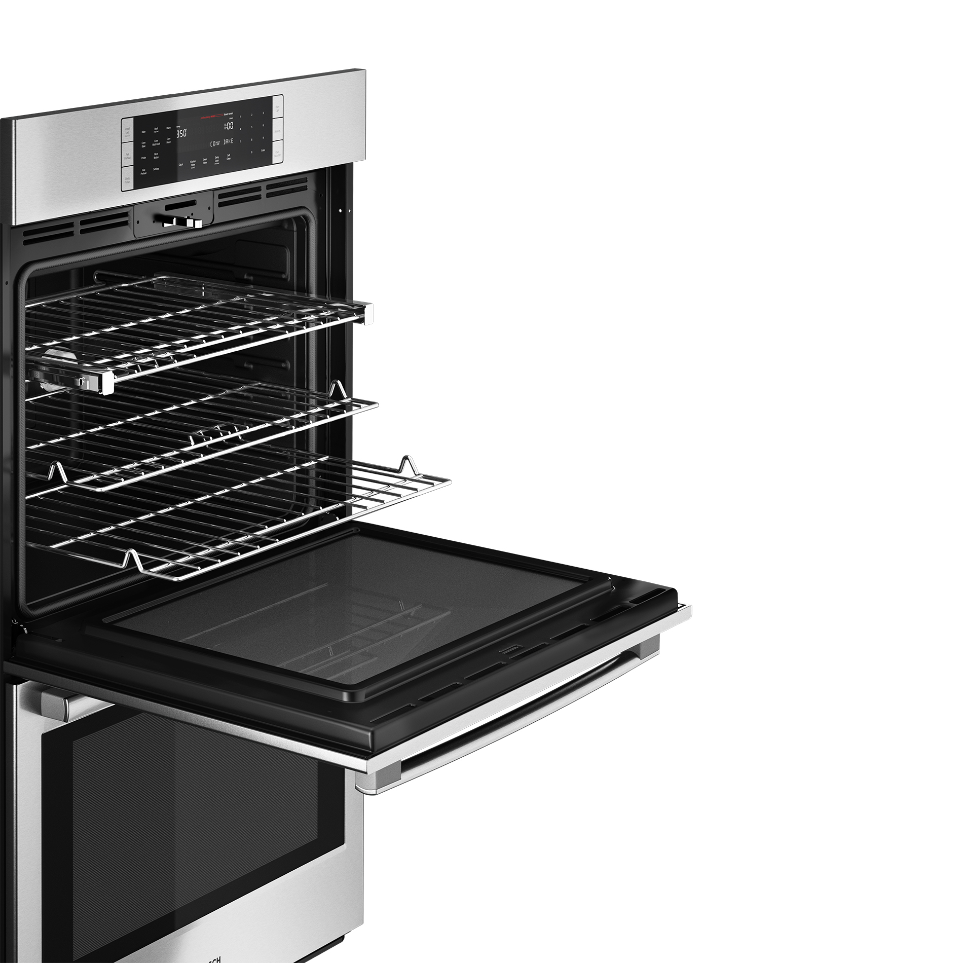 "Bosch 800 Series 30""  Double Wall Oven - Stainless Steel"