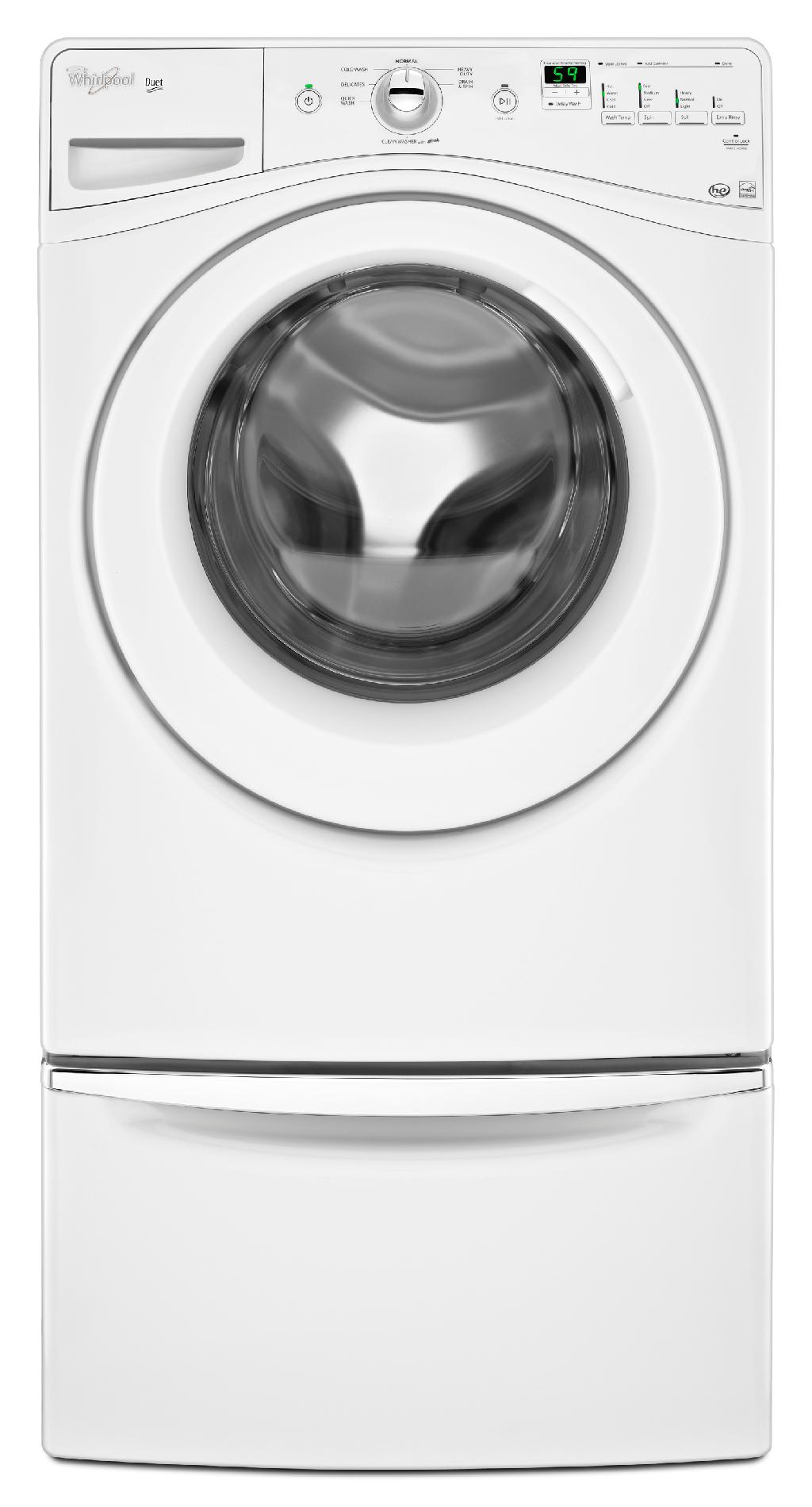 Whirlpool 4.1 cu. ft. Front-load Washer w/ Stainless Steel Basket - White