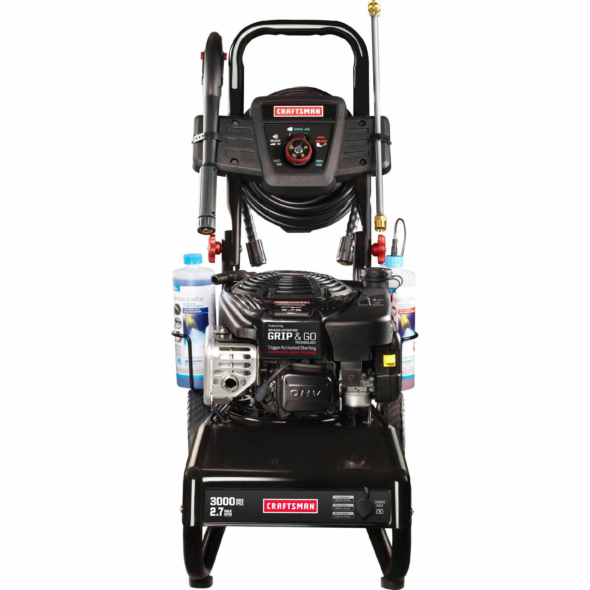 Craftsman 3000 PSI Gas Pressure Washer w/ Grip & GO