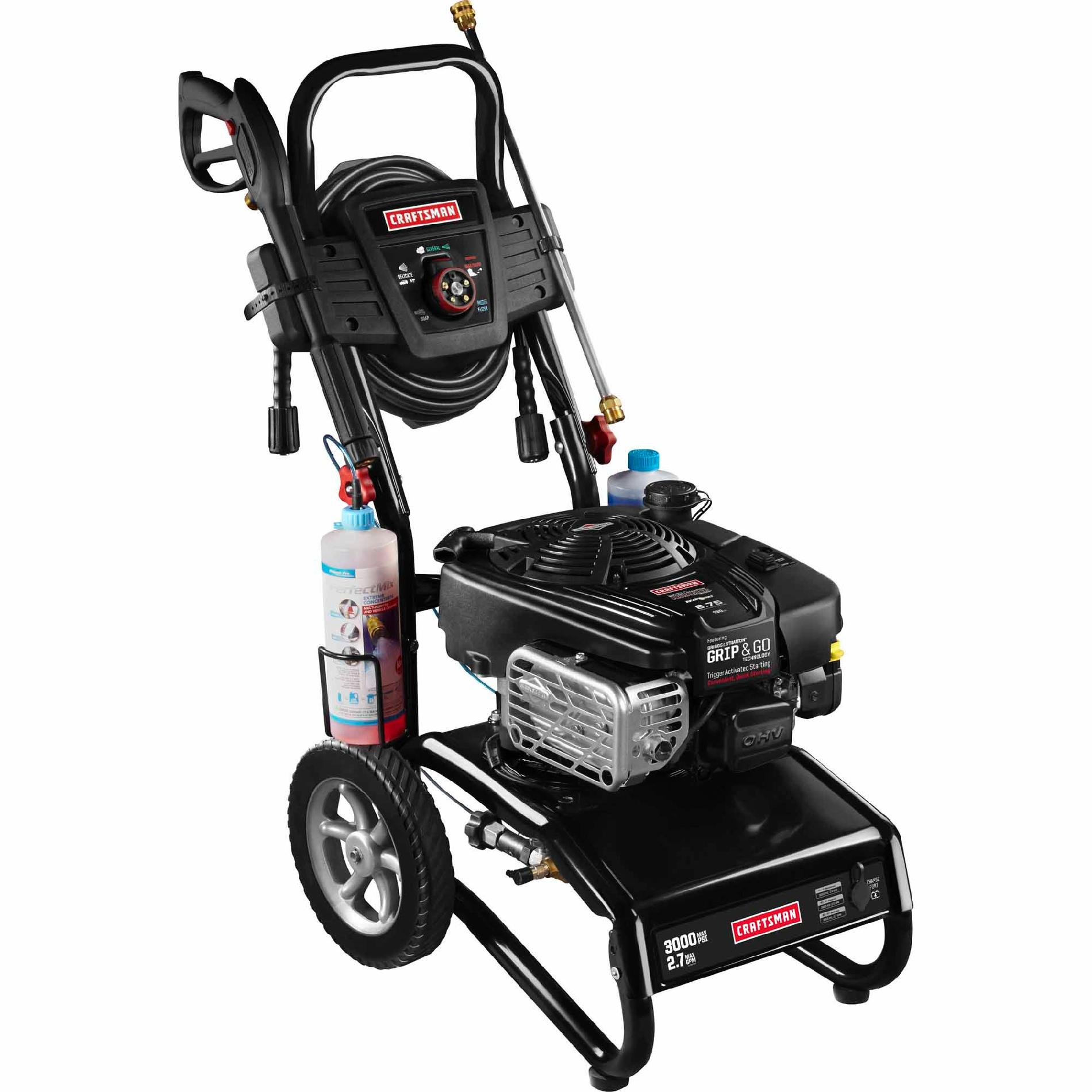 Craftsman 3000 PSI 2.7 GPM Gas-Powered Pressure Washer