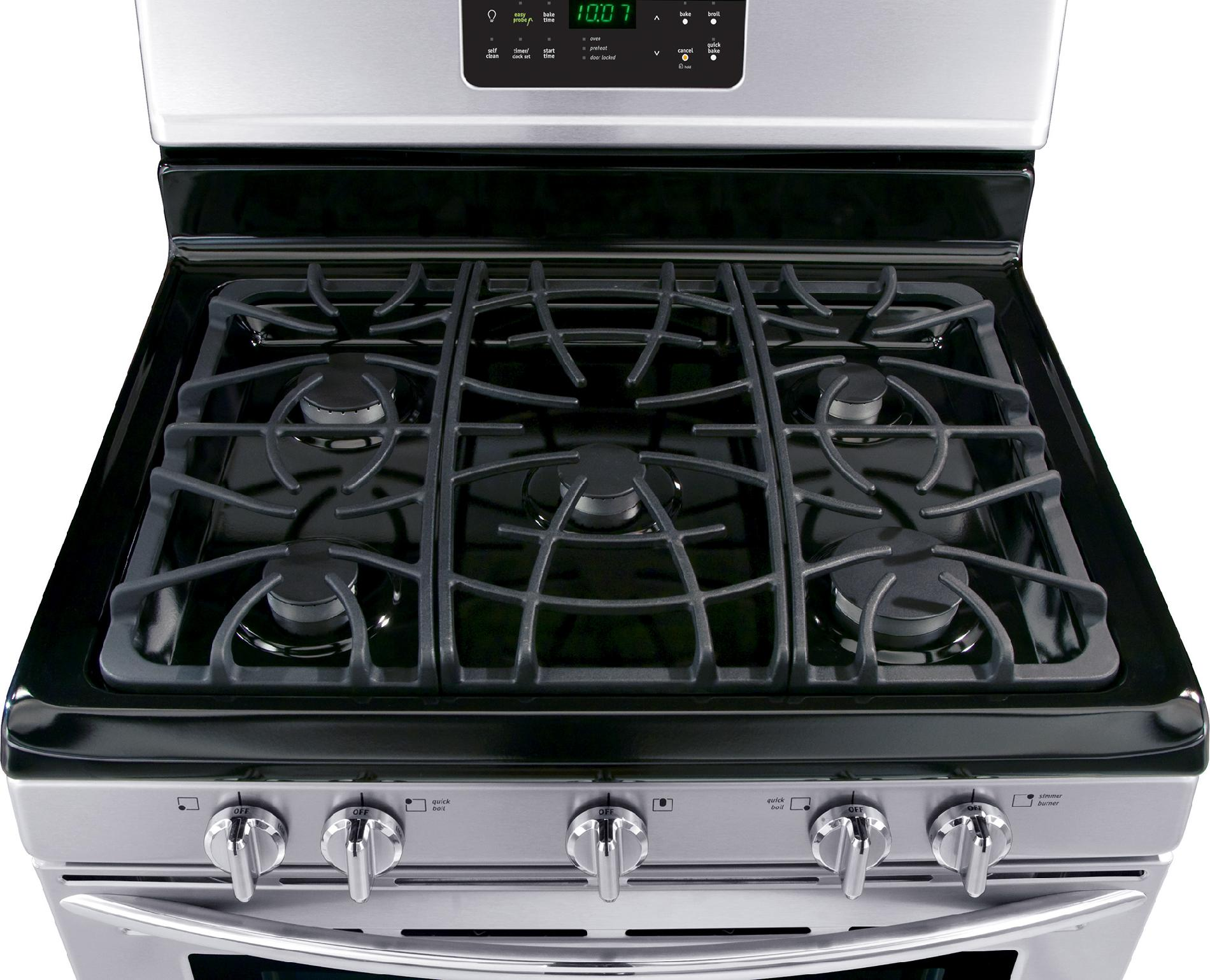 Frigidaire Gallery 5.0 cu. ft. Gas Range - Stainless Steel