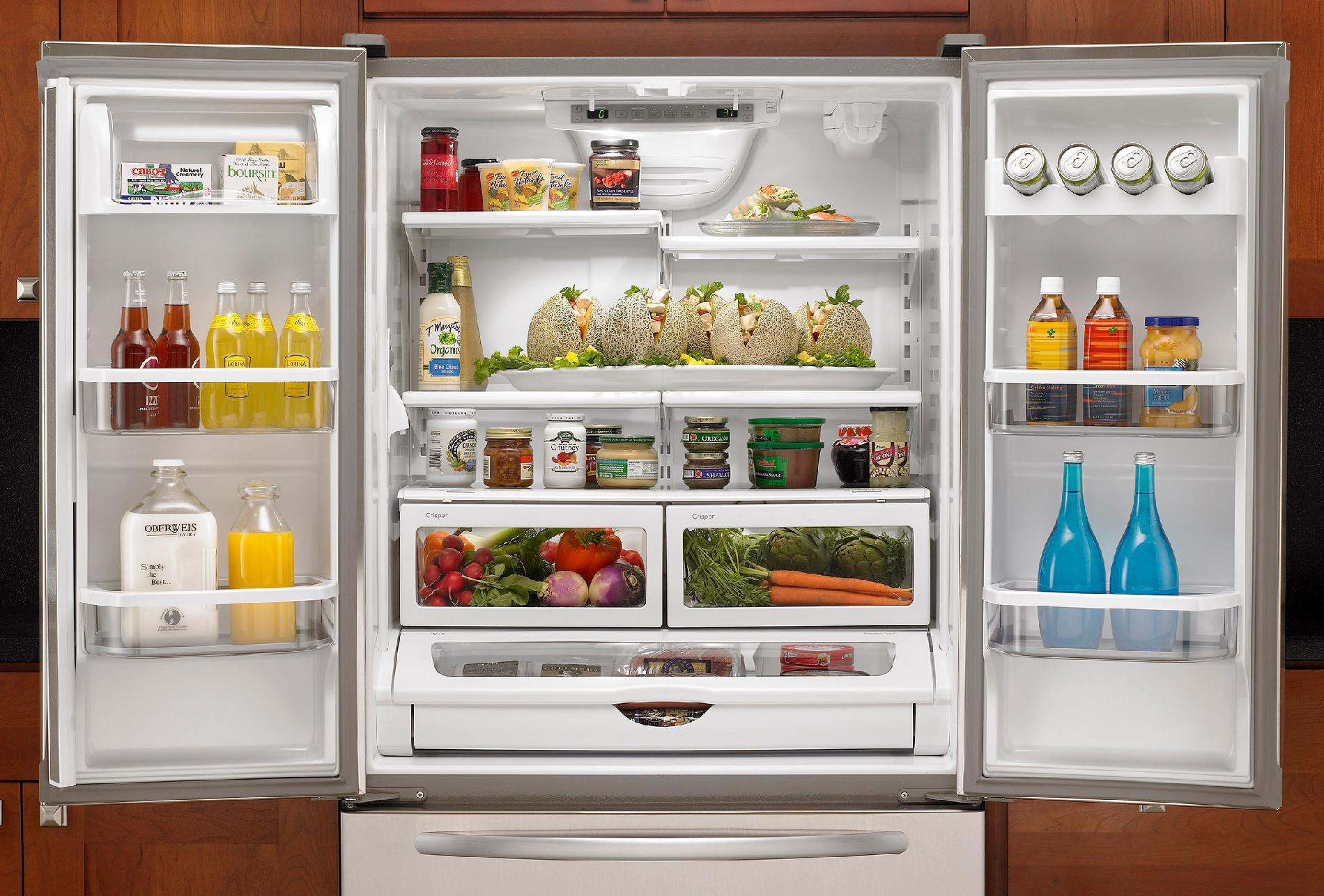 KitchenAid 19.8 cu. ft. French-Door Refrigerator w/ Interior Water Dispenser