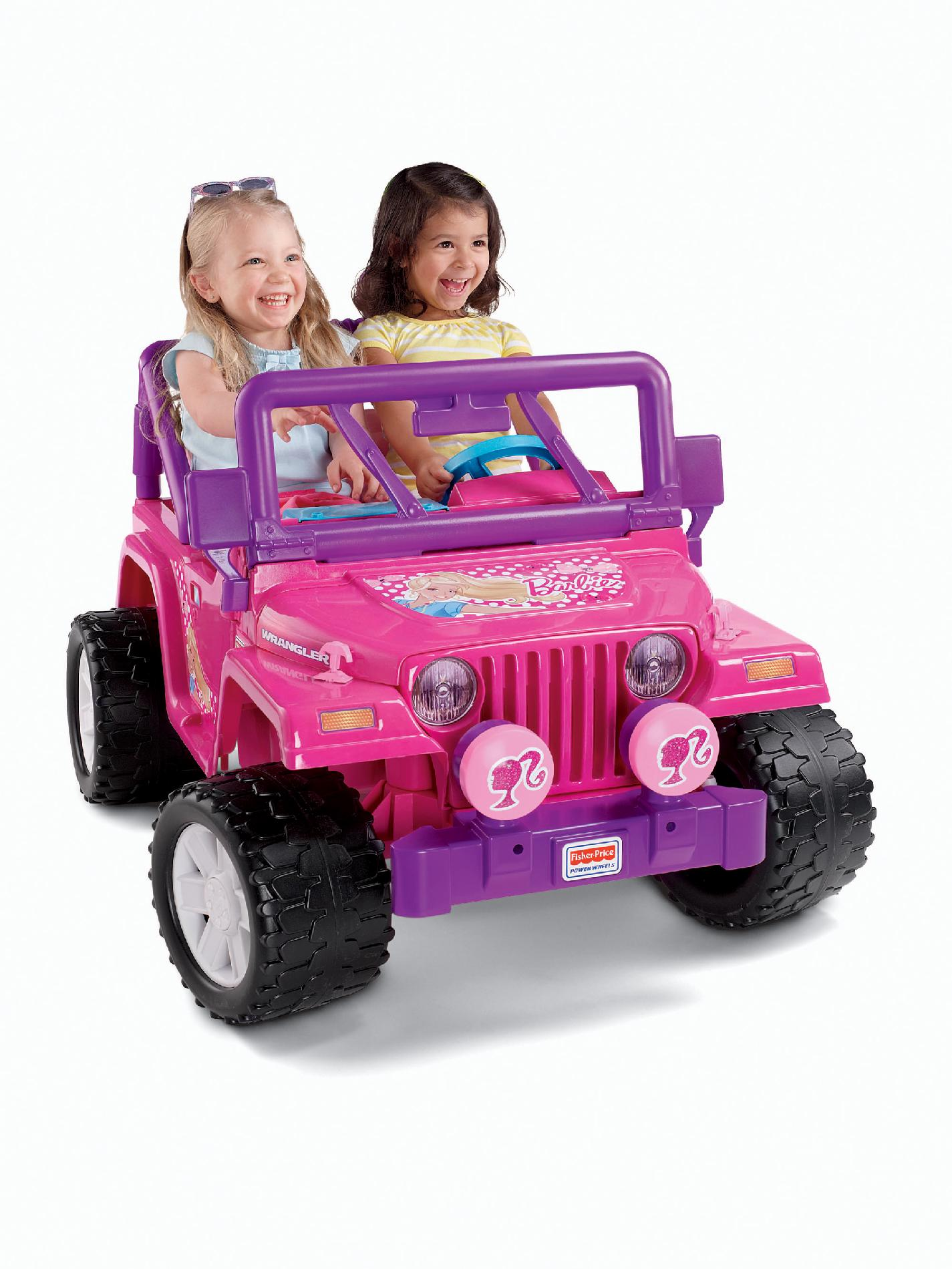 Power Wheels Barbie Jammin' Jeep by Fisher-Price