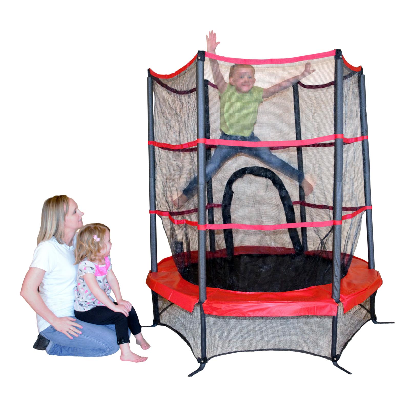 Propel Trampolines Preschool Enclosed Small Trampoline