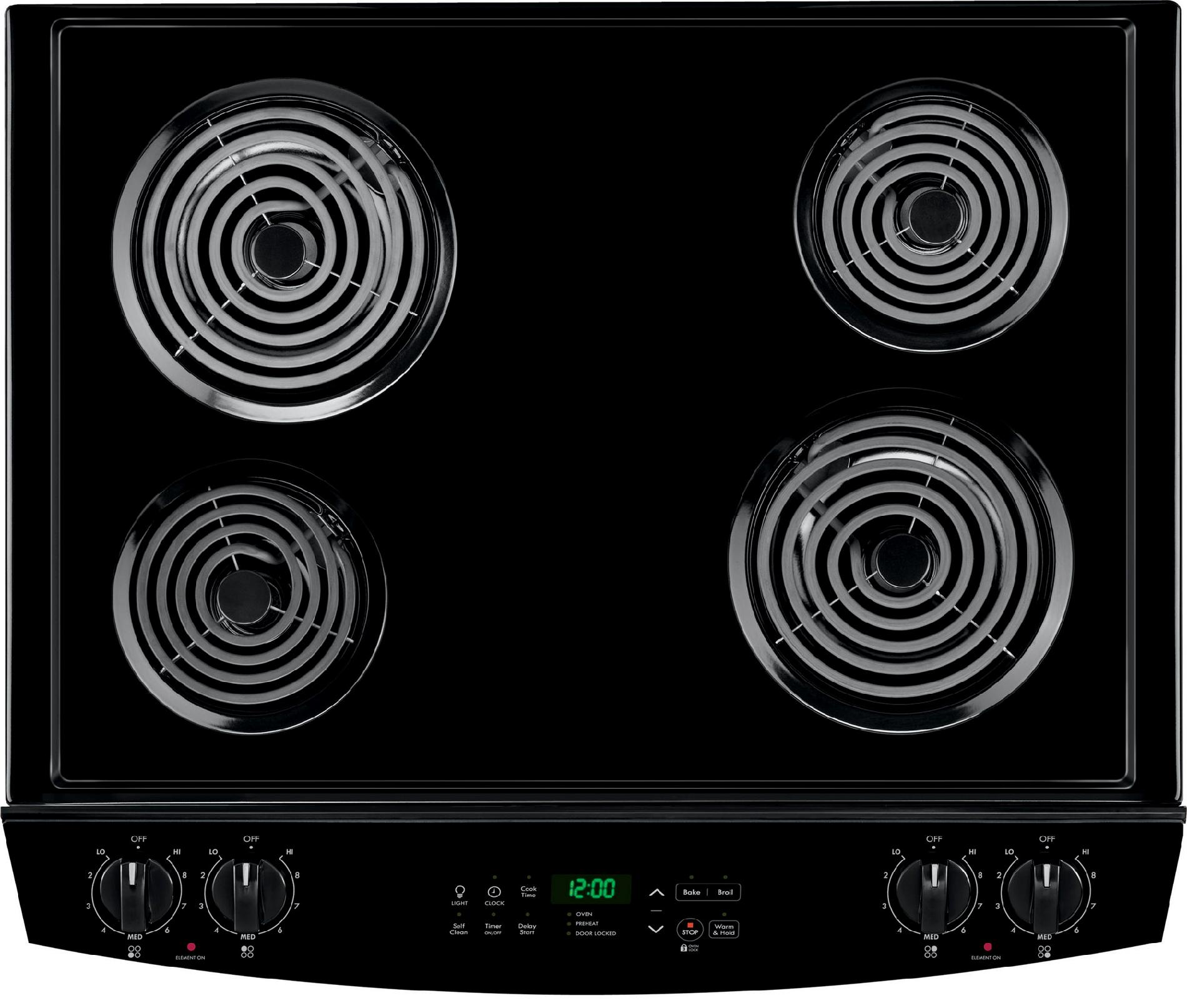 Kenmore 4.2 cu. ft. Self-Clean Drop-In Electric Range - Black