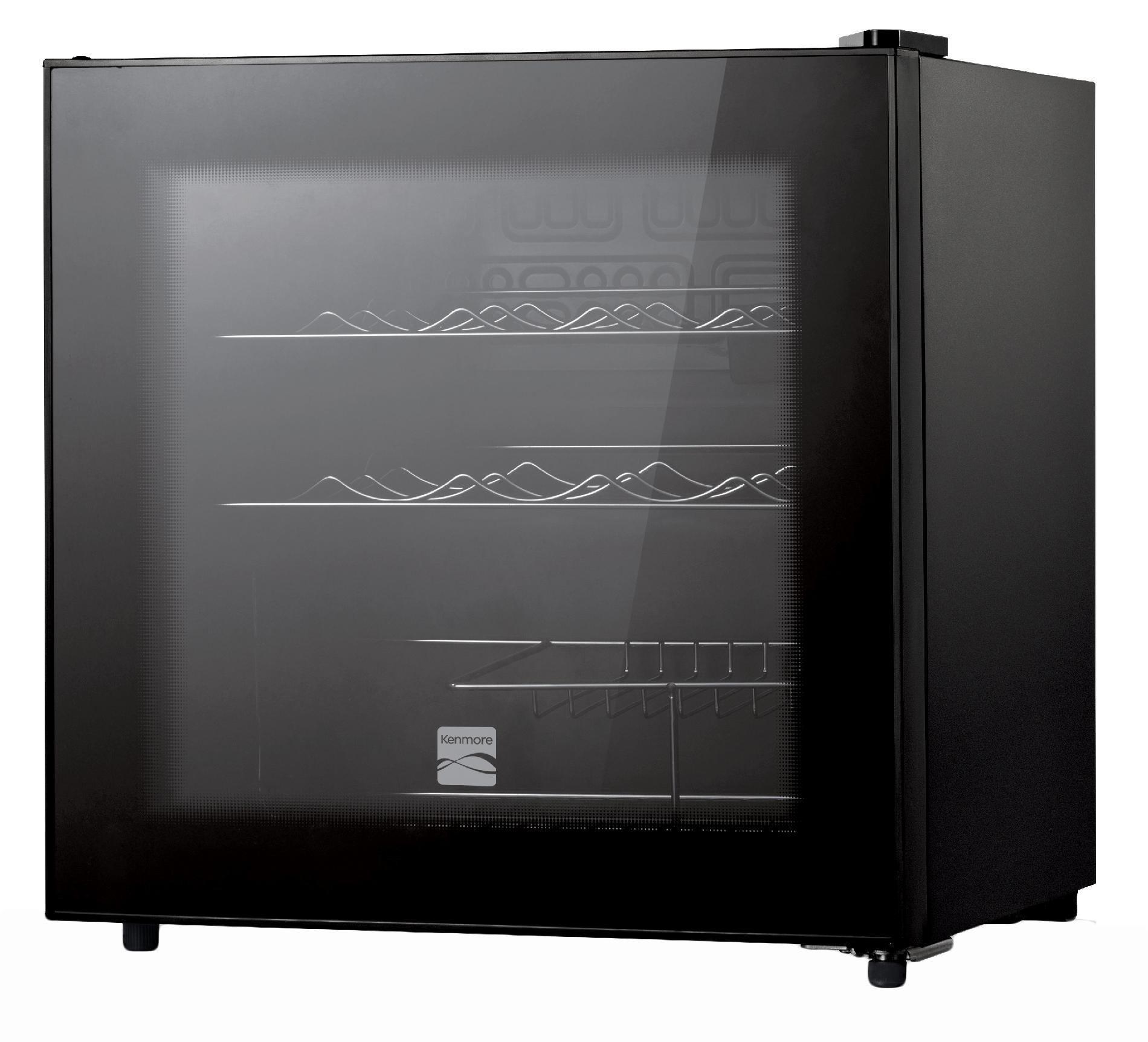 Kenmore 16-Bottle Wine Chiller - Black