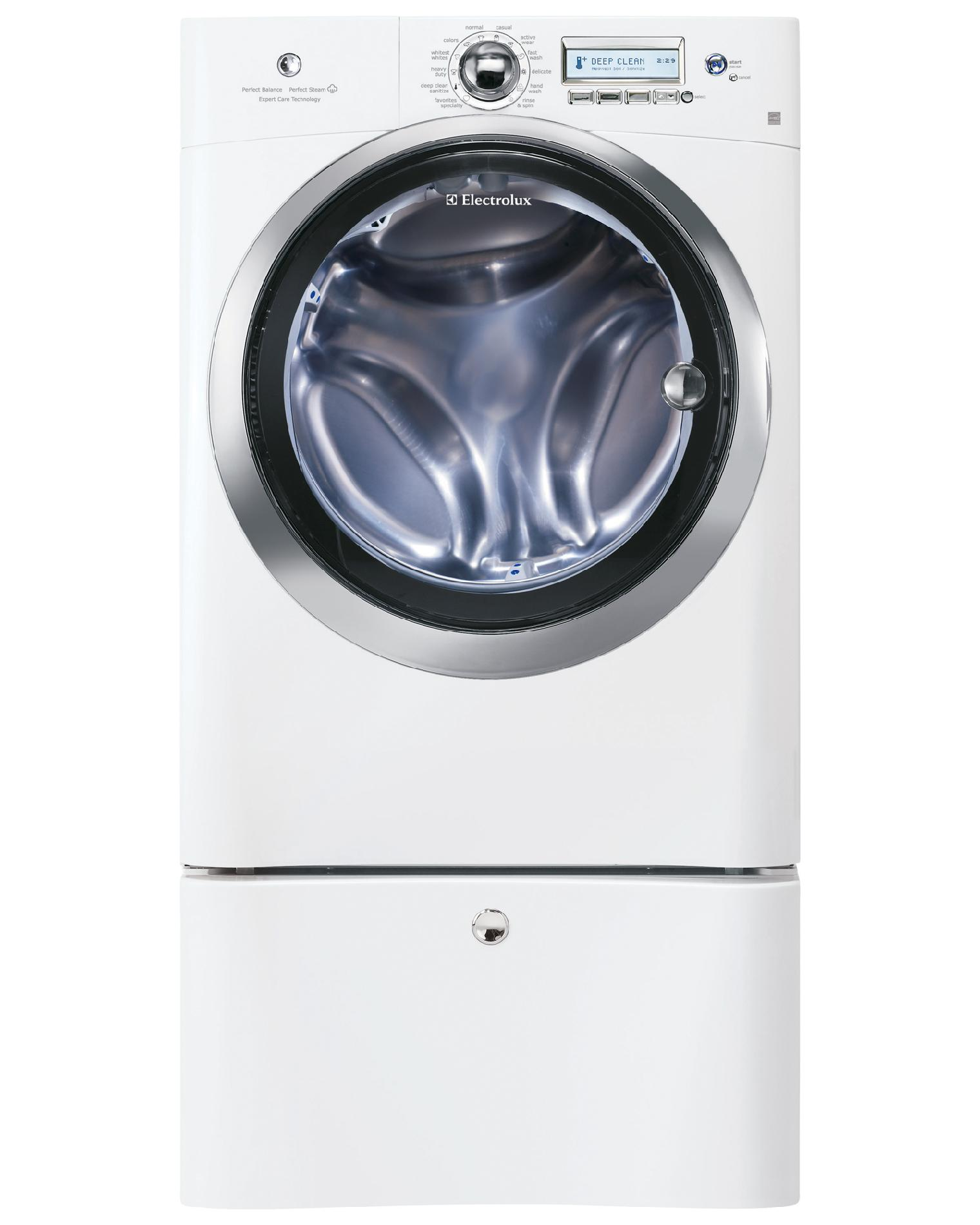 Electrolux 4.4 cu. ft. Front-Load Washer w/ Steam - Island White