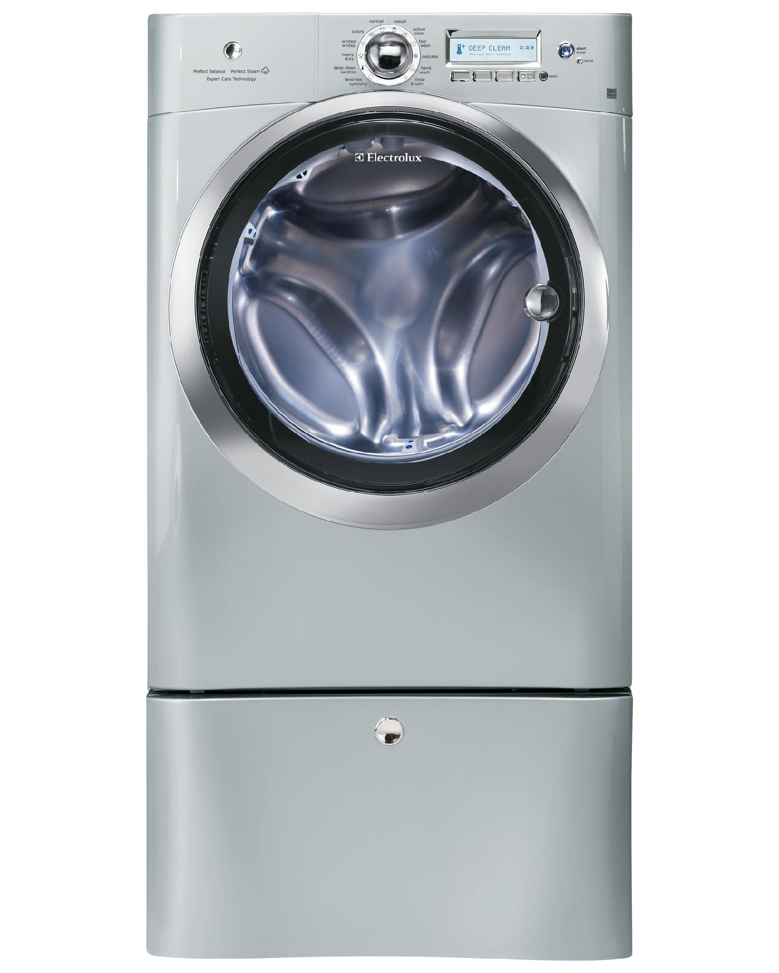 Electrolux 4.4 cu. ft. Steam Front-Load Washing Machine - Silver Sands