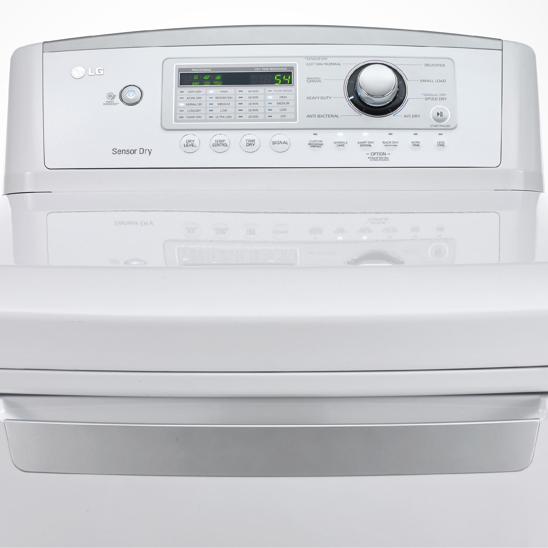 LG DLE4970W 7.3 cu. ft. Electric Dryer w/Sensor Dry Technology