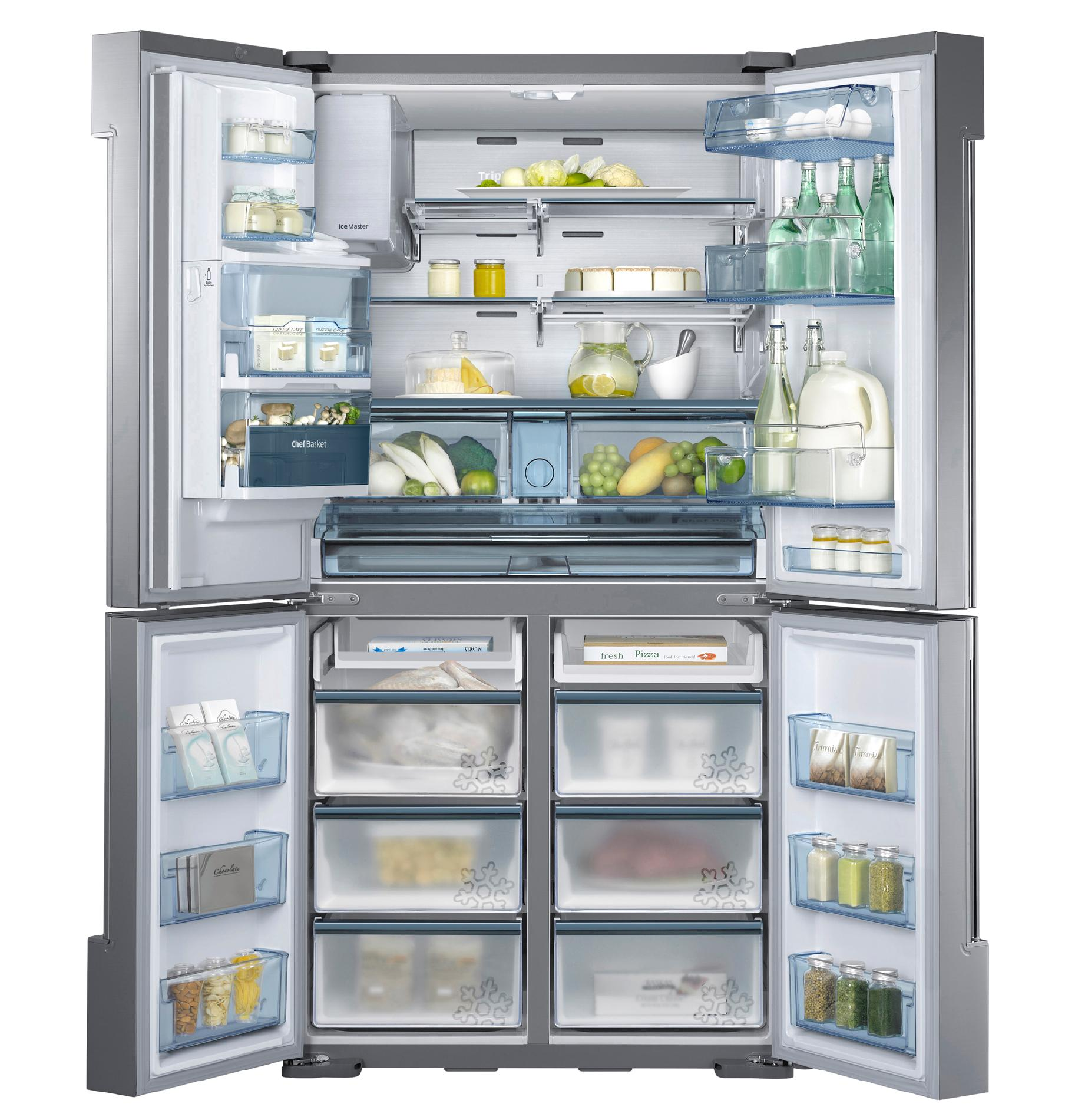 Samsung Chef Collection RF34H9960S4 34 cu. ft. 4-Door Flex™  Refrigerator - Stainless Steel