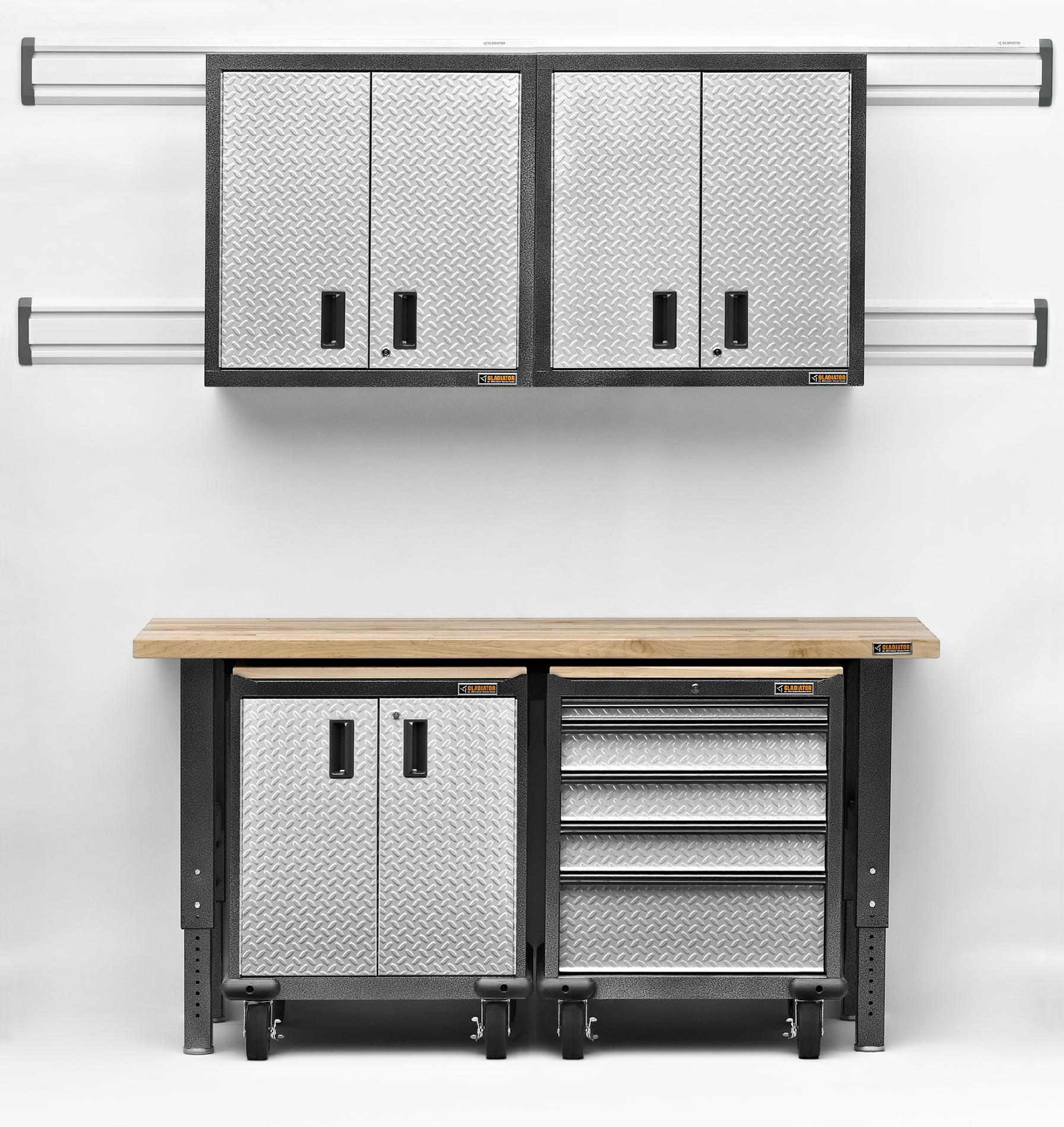 Premier 7-Piece Garage Storage System