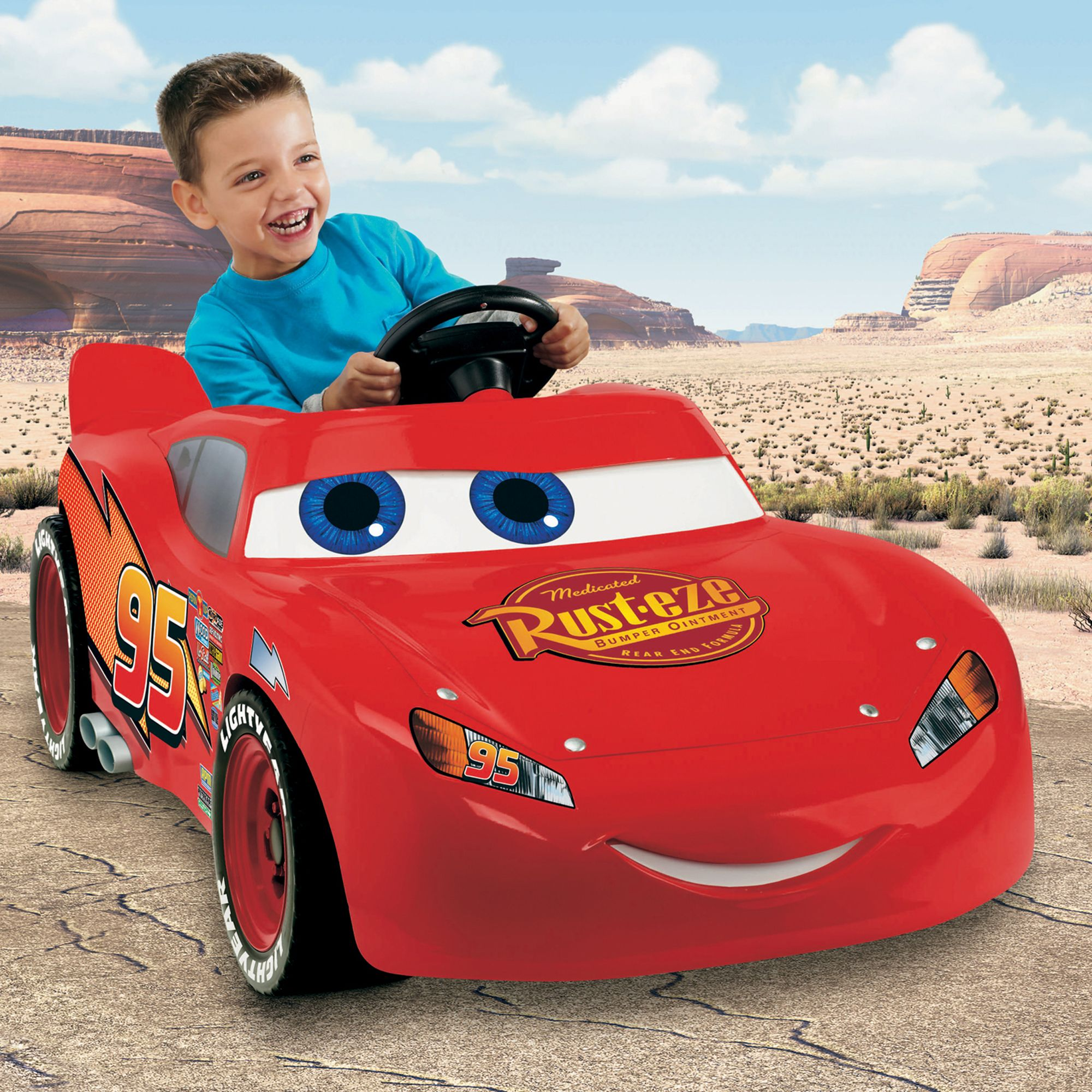 Power Wheels Power Wheels Lightning McQueen Super 6