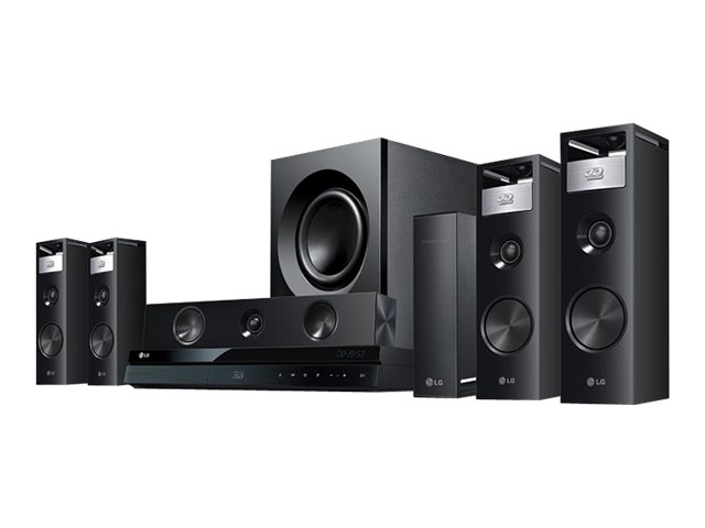 LG 3D Blu-ray Home Theater System BH9220BW