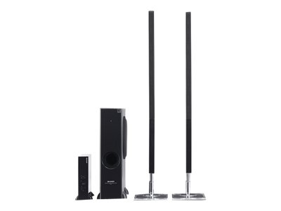 Sharp 2.1 Channel Sound Bar Home Theater System HT-SL77U