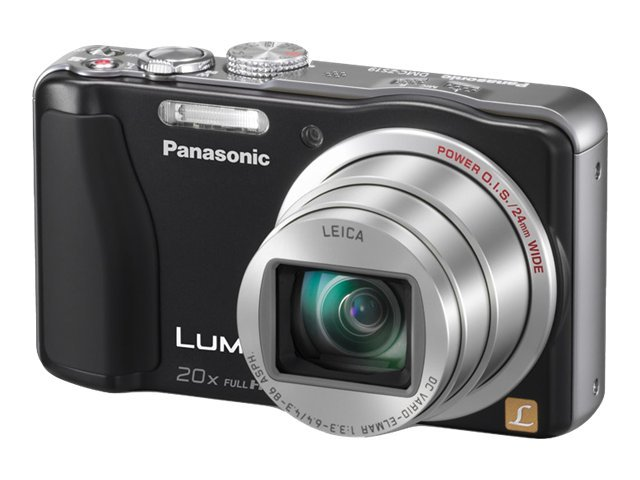 Panasonic LUMIX DMC-ZS19K Compact Digital Camera 14.1MP