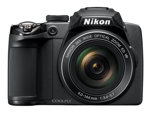 Nikon CoolPix P500 Digital Camera - Black