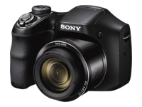 Sony High Zoom Digital Camera 20.1-Megapixel DSC-H200/B Black