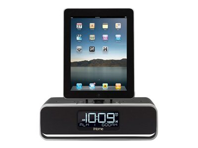 iHOME iD91 Dual Alarm Clock Radio for iPhone, iPod and iPad