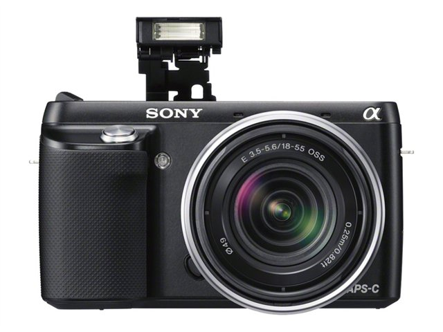 Sony 16.1MP Compact Interchangeable Lens Digital Camera NEX-F3K/B