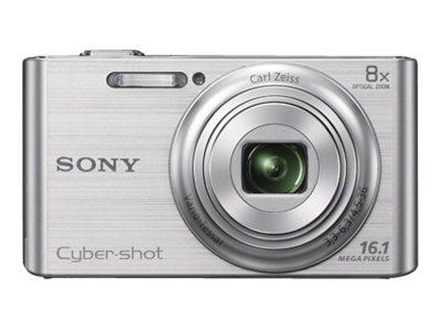 Sony Compact Zoom Digital Camera 16.1-Megapixel DSC-W730 Silver