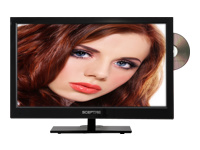 Sceptre Inc. Sceptre E243BD-FHD 24 LED Series Glossy Black 1080P LED HDTV with built-in DVD, 3 x HDMI, 1920 x 1080 Resolution