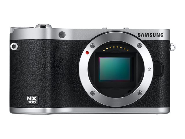 Samsung 20.3-Megapixel NX300 SMART Digital Camera Black