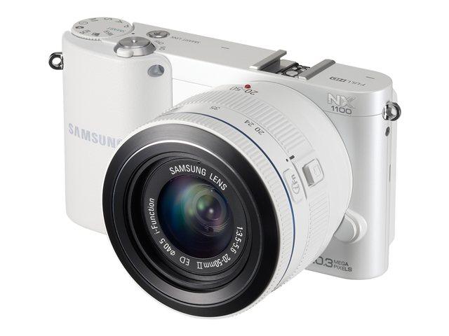 Samsung SAM NX1100 WHT   20MP CSC