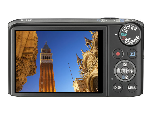 Canon PowerShot SX260 HS Digital Camera - Black