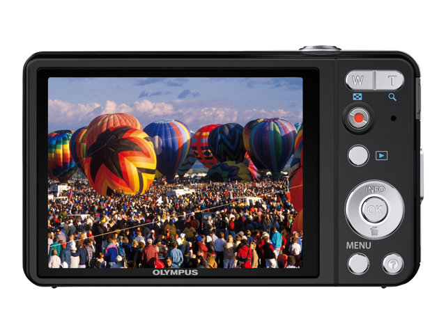 Olympus VG-160 Digital Camera - Black