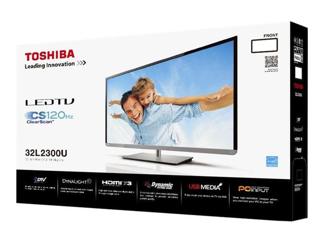 "Toshiba 32"" Class 720p 120Hz LED HDTV - 32L2300U"