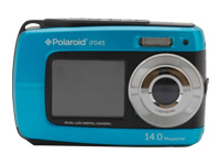 Polaroid iF045 Waterproof Digital Camera - Blue