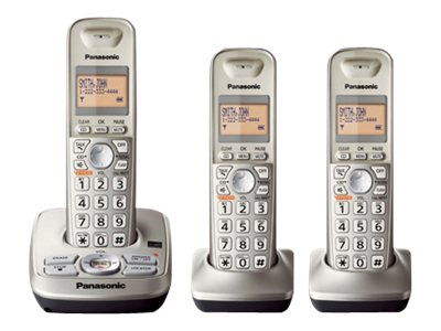 Panasonic 3 Handset Expandable Digital Cordless Answering System KX-TG4223N