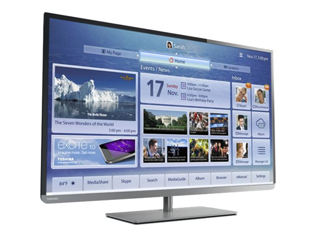 Toshiba Toshiba 58L4300U 58-Inch 1080p 120Hz Smart LED HDTV with Built-in WiFi