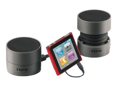 iHOME Rechargeable Mini Speakers