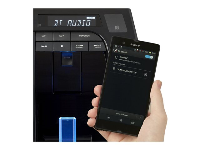 Sony Portable Party System w/ Bluetooth®, NFC RDH-GTK37iP