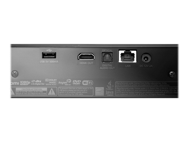 Samsung Compact Smart 3D Blu-ray Disc® Player with Full Web Browser and Built in Wi-Fi -  BD-ES6000