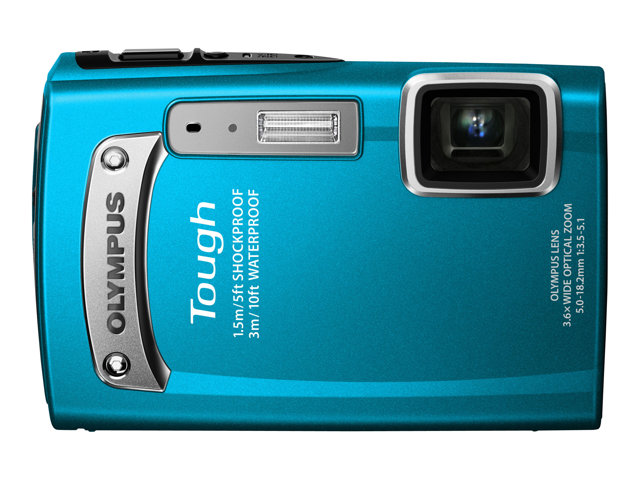 Olympus TG-320 Digital Camera - Blue