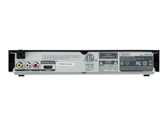 Seiki Blu-ray™ Player SR212S