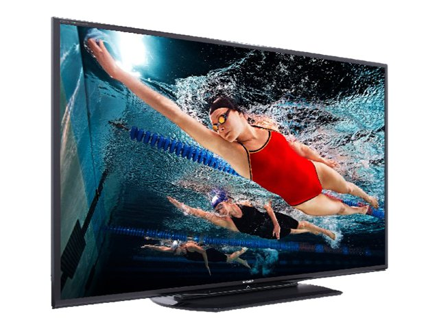 """Sharp 80"""" Class Aquos1080p 240Hz 3D LED Smart HDTV - LC80LE757U"""
