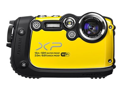 Fuji FinePix XP200 16.4 MP Digital Camera - Yellow