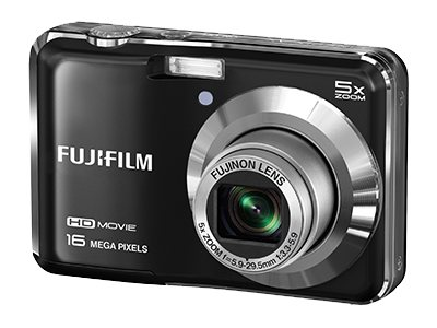Fuji FinePix AX650 16 MP Digital Camera - Black
