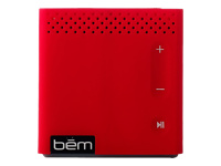 BEM WIRELESS Mobile Bluetooth Speaker - Red