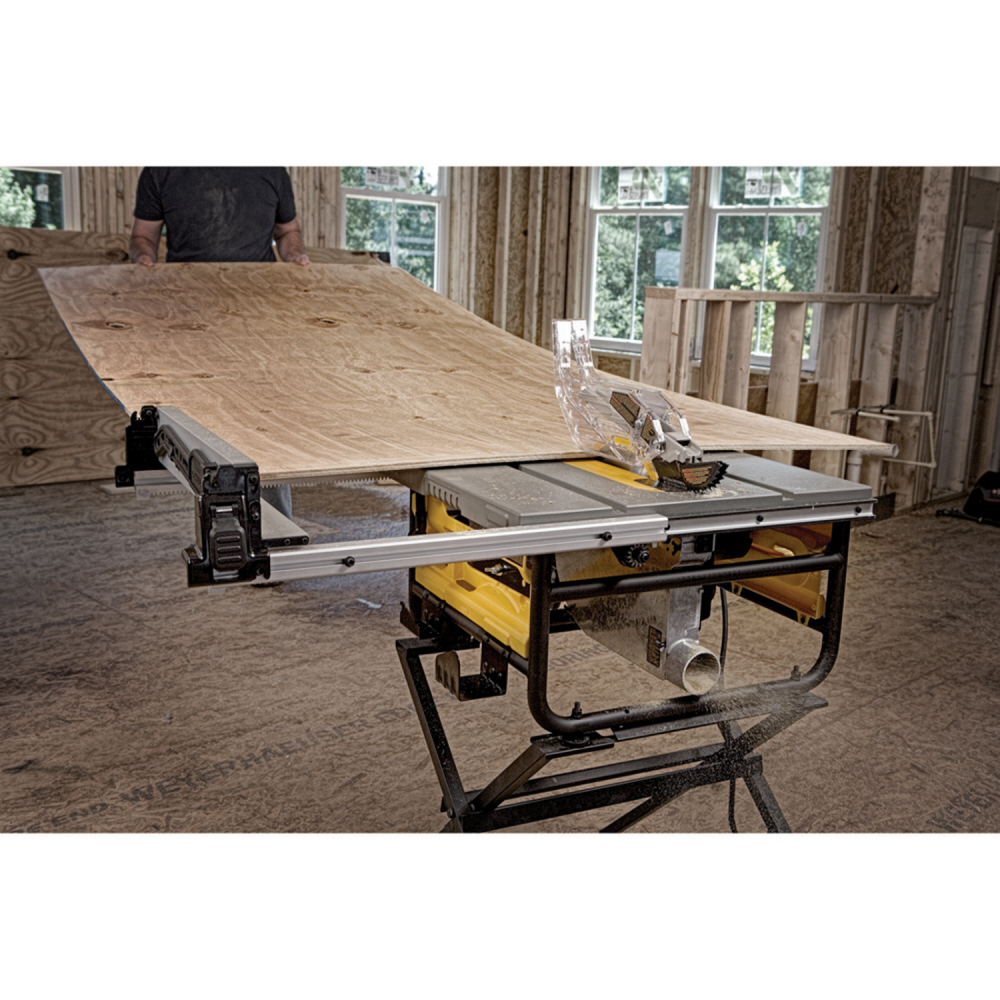 DeWalt 10 In. Compact Job Site Table Saw with Site-Pro Modular Guarding System
