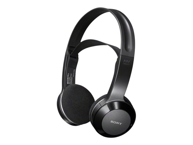 Sony Black Wireless Stereo Headphones