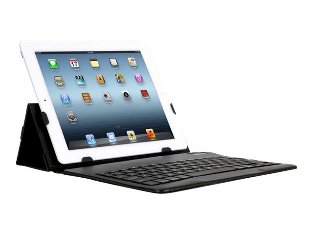iHOME Slim Keyboard Case for iPad®, Black