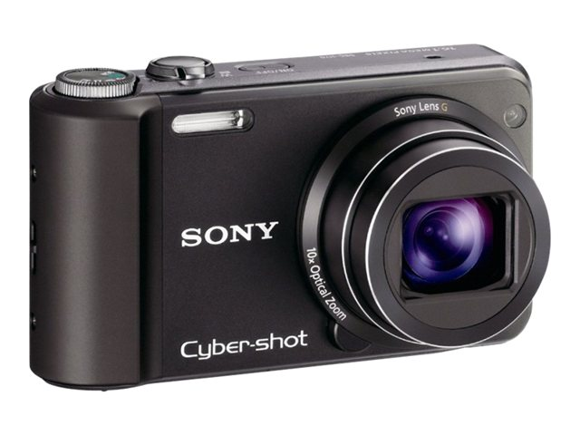 Sony Cyber-shot DSC-H70 - Digital camera - compact - 16.1 MP - 10 x optical zoom - black