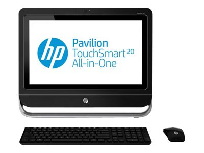 """HP Pavilion TouchSmart 1.40GHz Processor All-In-One PC 20-f230 w/ 20"""" Display (Energy Star)"""