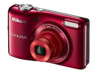 Nikon 20MP COOLPIX L28 Digital Camera Red