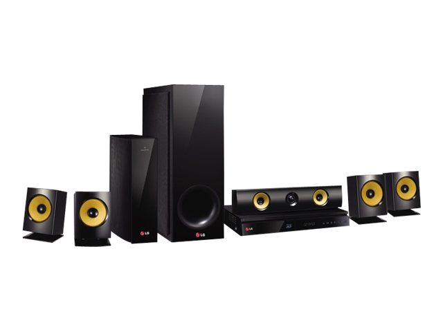 LG 1,000W 5.1-Channel 3D Smart Home Theater System w/ Wireless Speakers - BH6830SW